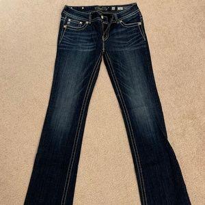 Miss Me Ladies Jeans Sz 31 Boot Cut